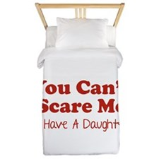 You can't scare me. I have a daughter! Twin Duvet