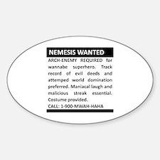 Nemesis Wanted Decal
