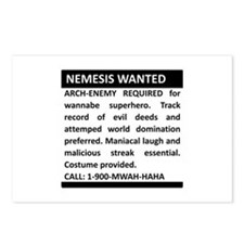 Nemesis Wanted Postcards (Package of 8)