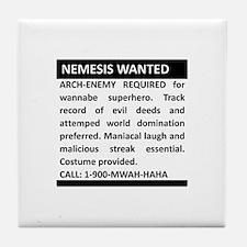 Nemesis Wanted Tile Coaster