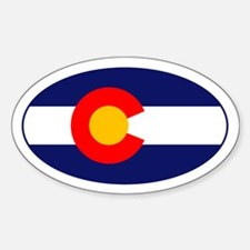 CO - Colorado Sticker (Oval)