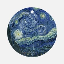 Starry Night by Van Gogh Ornament (Round)