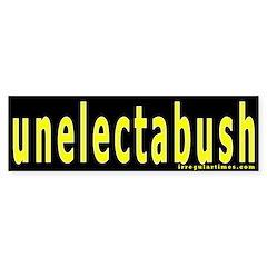 unelectabush Bumper Bumper Sticker