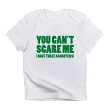 You can't scare me. I have three daughters! Infant