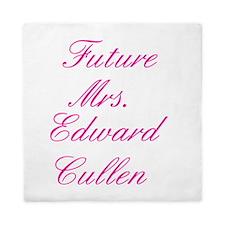 Pink Future Mrs. Edward Cullen Queen Duvet