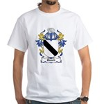 Bunell Coat of Arms White T-Shirt