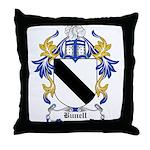Bunell Coat of Arms Throw Pillow