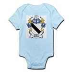 Bunell Coat of Arms Infant Creeper
