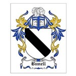 Bunell Coat of Arms Small Poster