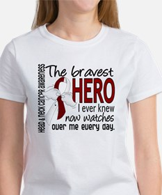 Bravest Hero I Knew Head and Neck Cancer Women's T