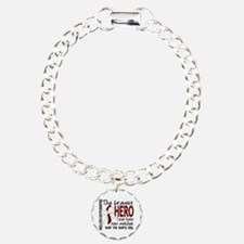 Bravest Hero I Knew Head and Neck Cancer Bracelet