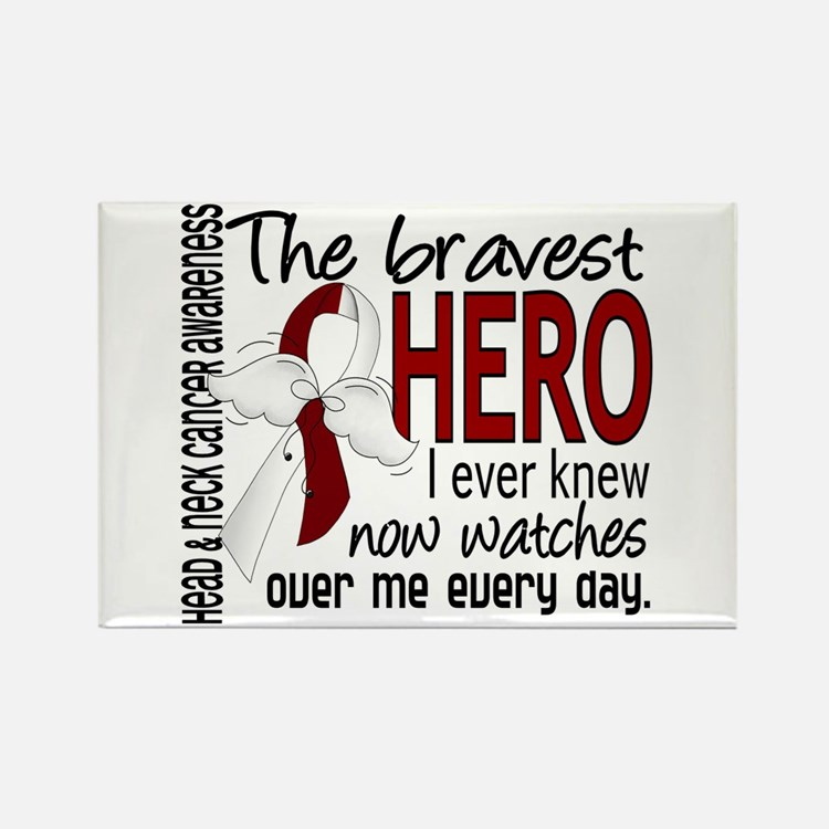 Bravest Hero I Knew Head and Neck Cancer Rectangle