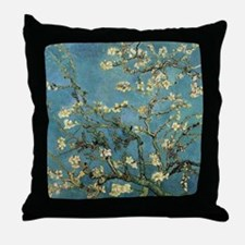 Almond Branches by Van Gogh Throw Pillow