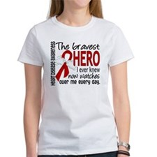 Bravest Hero I Knew Heart Disease Tee