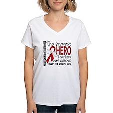Bravest Hero I Knew Heart Disease Shirt