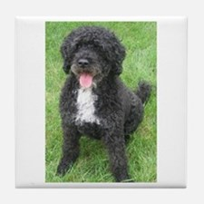 Portuguese Waterdog Tile Coaster