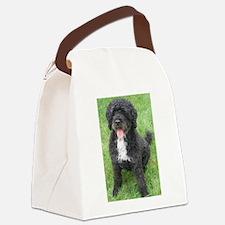 Portuguese Waterdog Canvas Lunch Bag