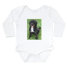 Portuguese Waterdog Long Sleeve Infant Bodysuit