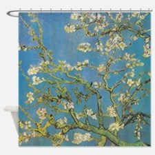 Van Gogh Almond Branches in Bloom Shower Curtain