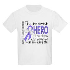 Bravest Hero I Knew Esophageal Cancer T-Shirt