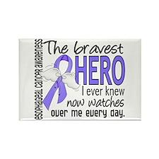 Bravest Hero I Knew Esophageal Cancer Rectangle Ma