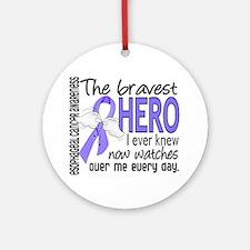 Bravest Hero I Knew Esophageal Cancer Ornament (Ro