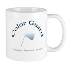 Color Guard Frienship Teamwork Memories Mug