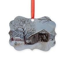 Covered Bridge Ornament