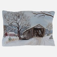 Covered Bridge Pillow Case