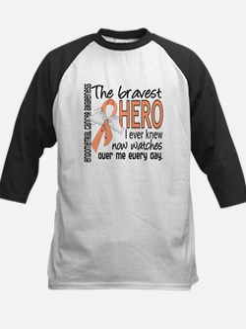 Bravest Hero I Knew Endometrial Cancer Tee