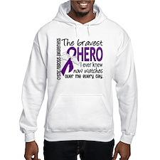 Bravest Hero I Knew Cystic Fibrosis Jumper Hoody