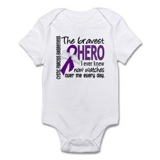 Bravest Hero I Knew Cystic Fibrosis Infant Bodysui