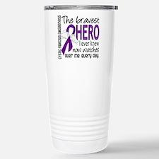 Bravest Hero I Knew Cystic Fibrosis Travel Mug