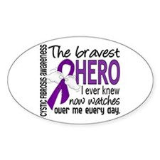 Bravest Hero I Knew Cystic Fibrosis Decal