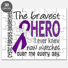 Bravest Hero I Knew Cystic Fibrosis Puzzle
