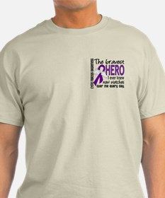 Bravest Hero I Knew Cystic Fibrosis T-Shirt