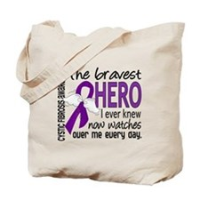 Bravest Hero I Knew Cystic Fibrosis Tote Bag