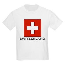 Switzerland Flag Stuff Kids T-Shirt