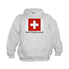 Switzerland Flag Stuff Hoodie