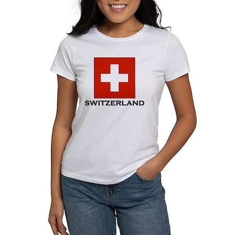 Switzerland Flag Stuff Women's T-Shirt