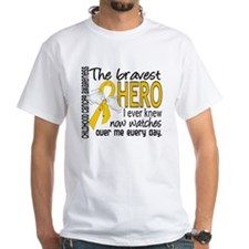 Bravest Hero I Knew Childhood Cancer Shirt