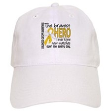 Bravest Hero I Knew Childhood Cancer Baseball Cap