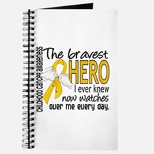 Bravest Hero I Knew Childhood Cancer Journal