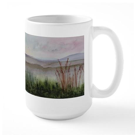 Misty Day Large Mug