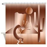 American desert Shower Curtains