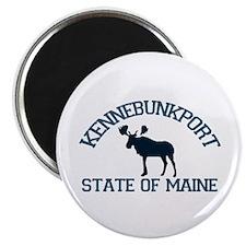 Kennebunkport ME - Moose Design. Magnet