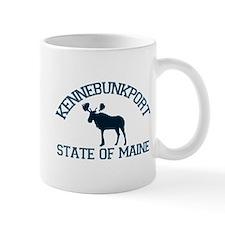 Kennebunkport ME - Moose Design. Mug