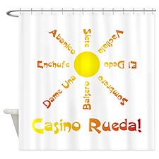 Casino Rueda Salsa Shower Curtain