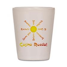 Casino Rueda Salsa Shot Glass