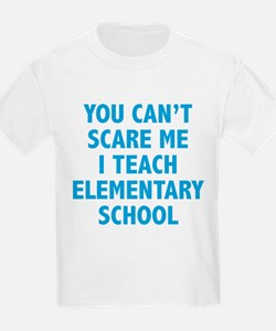 You can't scare me. I teach elementary school. Kid